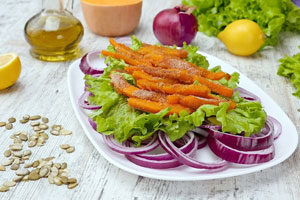 Салат із гарбузом