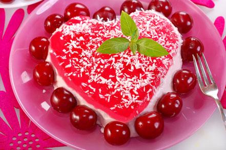 Вишнево-сирний десерт