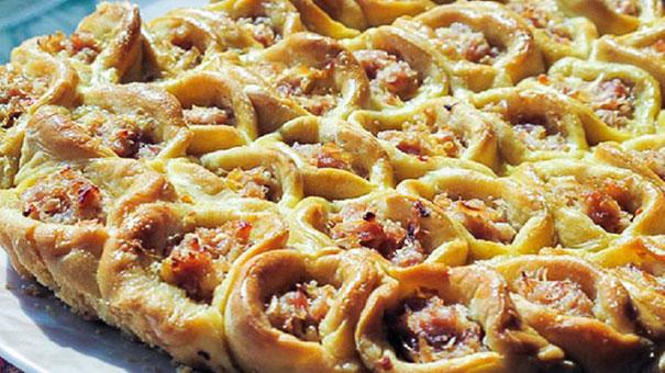 Пиріг «Соти» із квашеною капустою