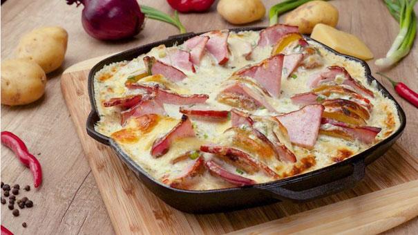 Сирна картопля