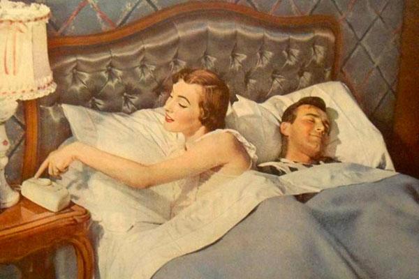 З якого боку чоловік повинен спати від дружини