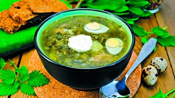 Весняний суп