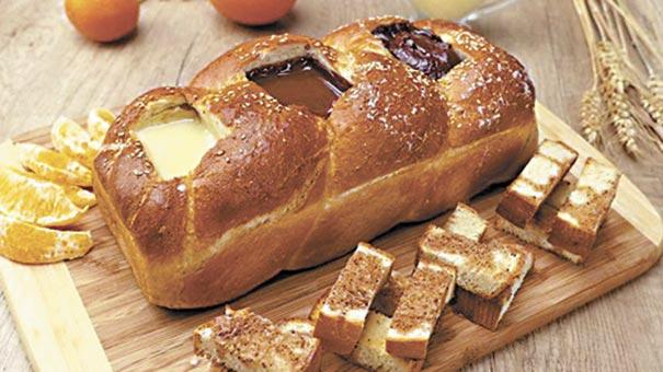 Хліб із шоколадом