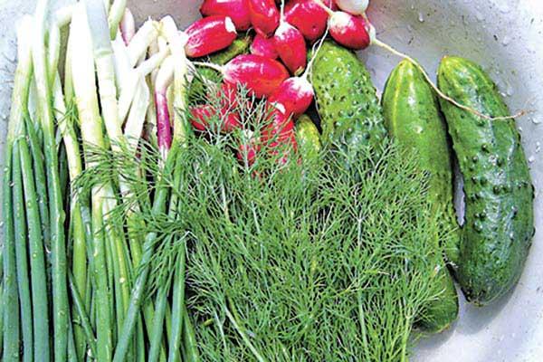 Ранні овочі