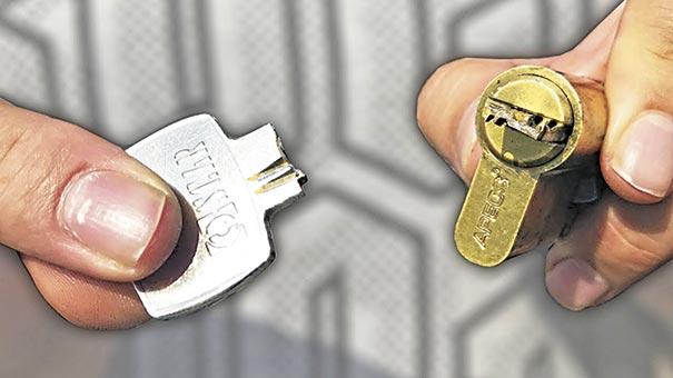Зламаний ключ