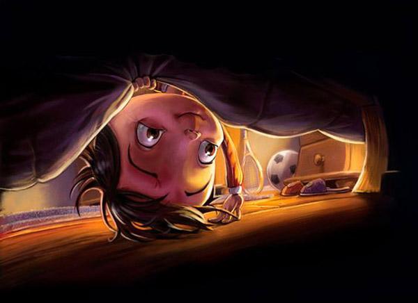 Хтось під ліжком