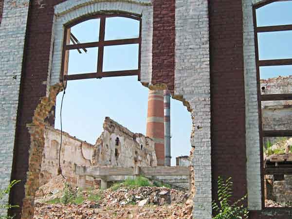 Руїни Городищенського сахарного завода