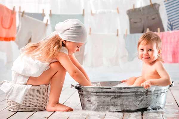 Як прати речі новонародженого