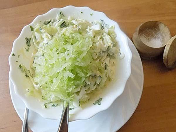 Салат із зеленою редькою