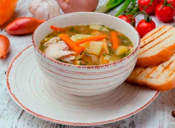 Суп з омлетом