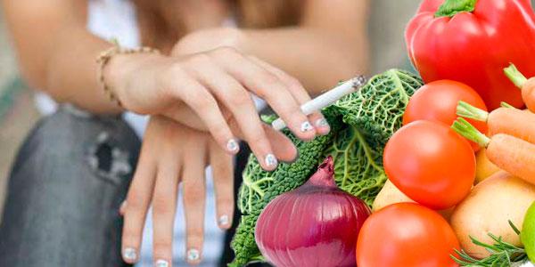 курця врятують овочі