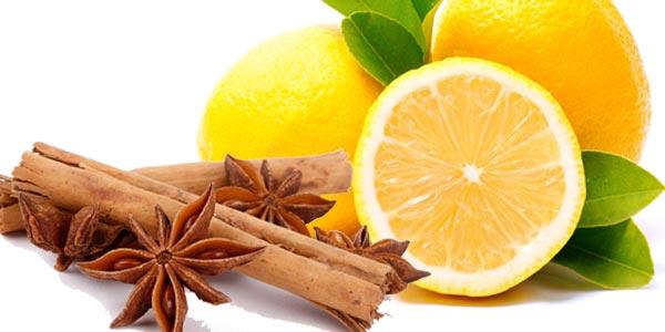 Лимон кориця