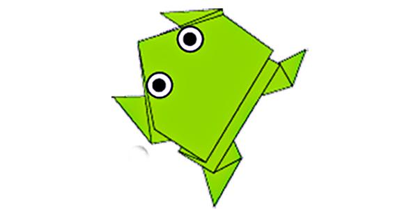 Оригамі «жабка»
