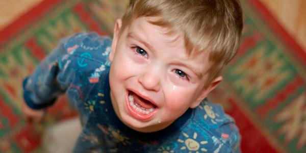 дитина плаче
