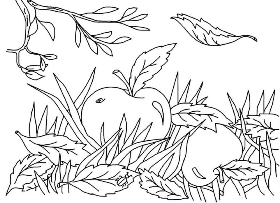 распечатать картинки про осень