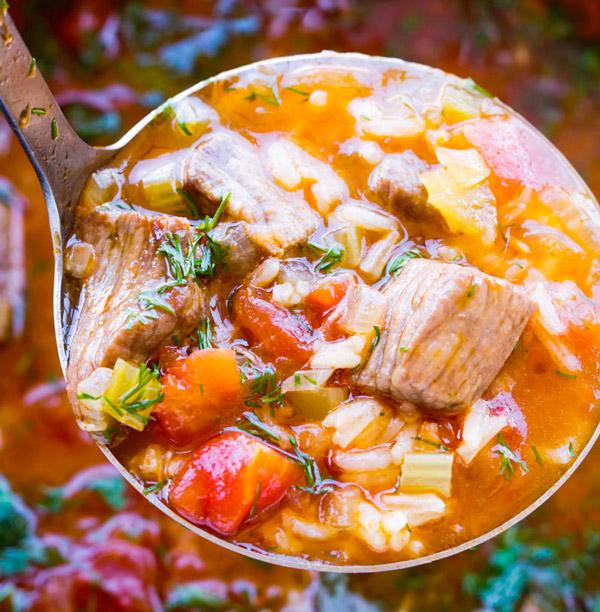 Суп харчо з яловичиною
