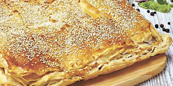Сирний пиріг по-грецьки