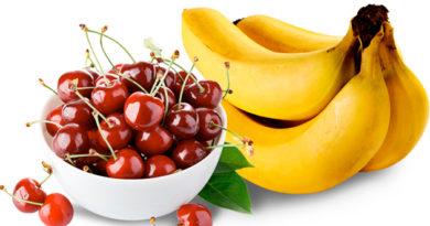 вишня й банан