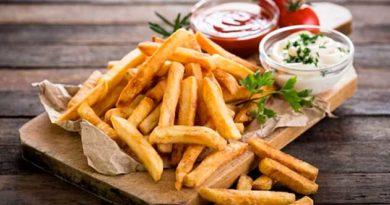 картошка фрі без олії