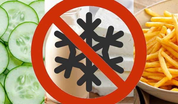 Не заморожуйте ці продукти