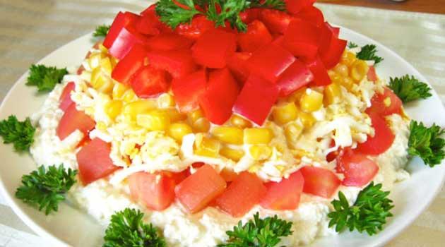 Салат кукурудзи