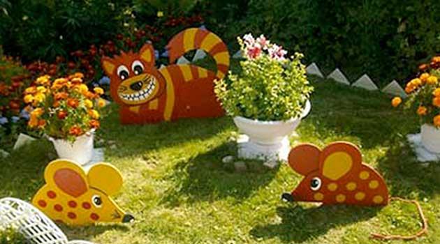 фігурки для саду