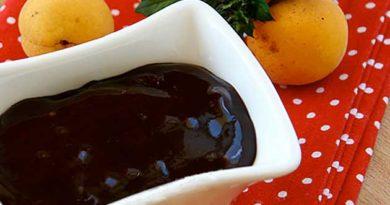 Шоколадне повидло з абрикос