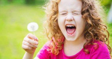 алергія на пилок у дітей