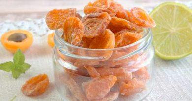 Цукати з абрикос