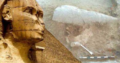 Нового Сфінкса відкрили в Єгипті