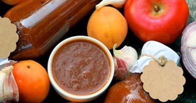 Абрикосово-яблучний кетчуп