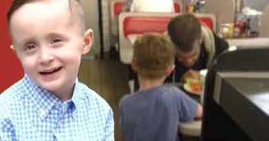 5-річний хлопчик нагодував безхатченка