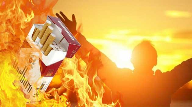 кинув курити
