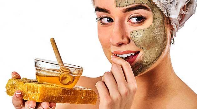Медова маска для обличчя