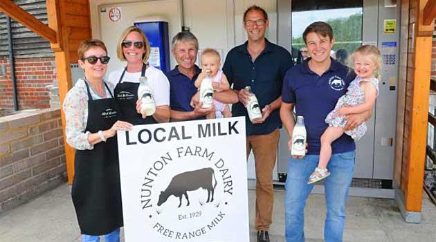 Молокомат Nunton Farm