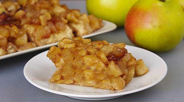 Яблучний десерт