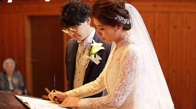 дівчина несподівано стала заміжньою