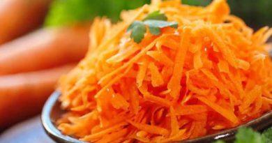 Морква зміцнює пам'ять