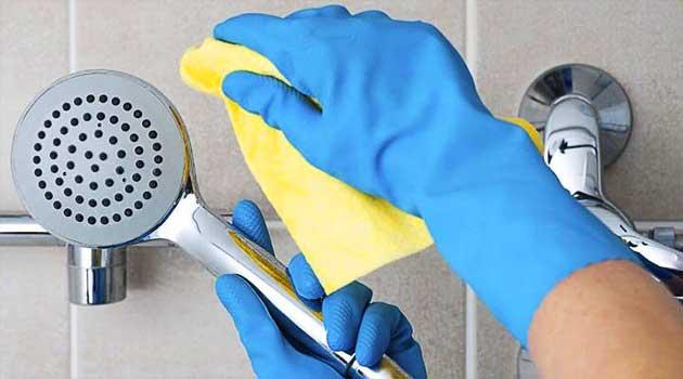 Як почистити душову лійку