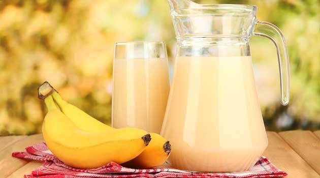 Банановий кисіль від кашлю
