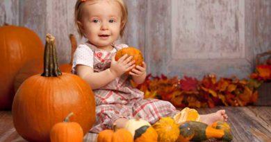 Гарбуз – корисний прикорм для малюка