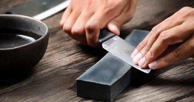 гостримо ножі правильно