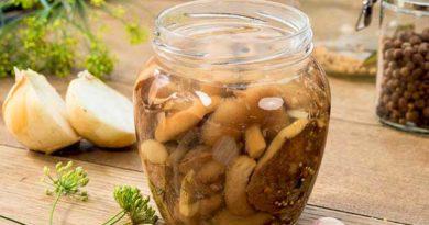 Класичний рецепт грибів на зиму
