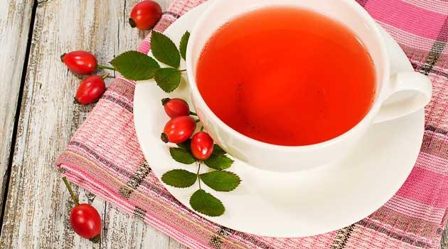 чай з шипшиною