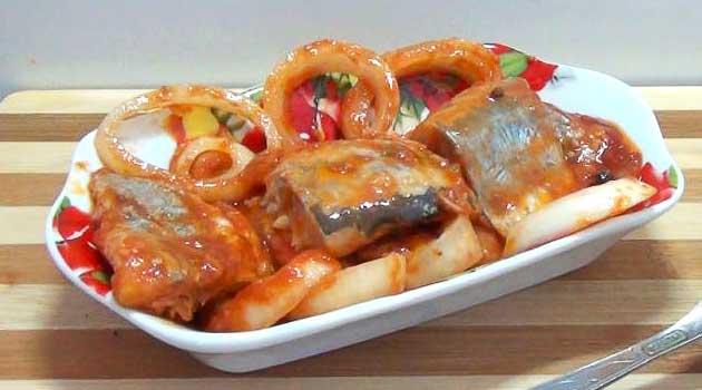 Рибка з кетчупом
