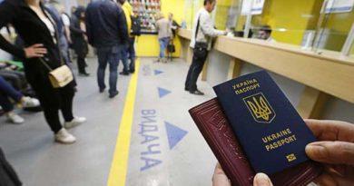 тариф на оформлення закордонного паспорта