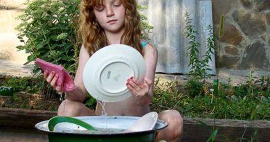 Як вимити посуд без хімії