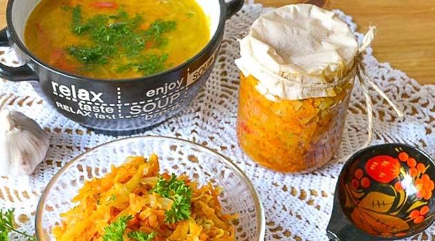 Заправка для супів солона