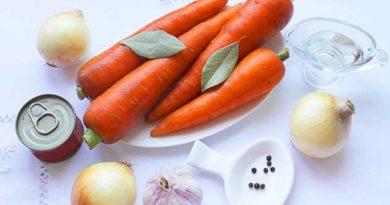 заготовки з моркви й цибулі на зиму