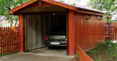 На якій відстані від межі можна зводити гараж
